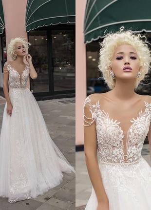Свадебное платье от daria karlozi. возможен торг