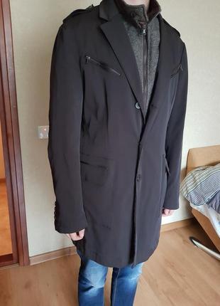 Мужское пальто, тренч