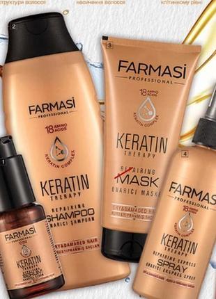 Набор для волос keratin therapy