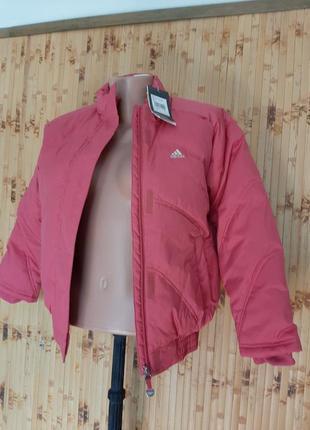 Куртка утепленная детская adidas оригинал с водоотталкивающим покрытиемм