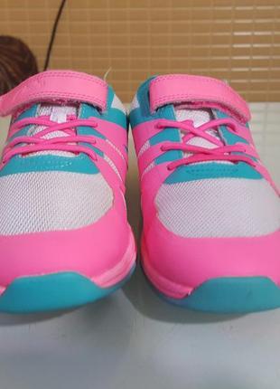 Брендовые детские кроссовки clarks original на липучке