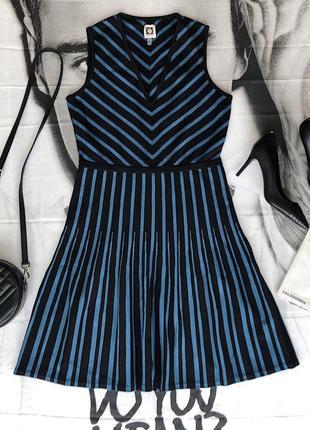 Платье сарафан осенний в офис anne klein