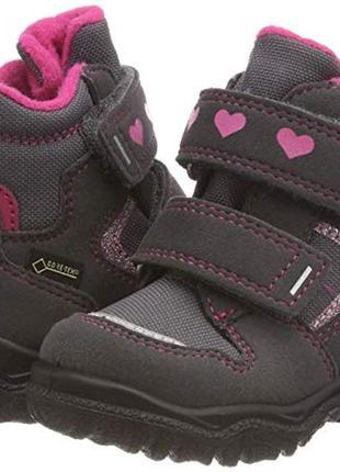 Зимние ботинки суперфит superfit модель husky с мембраной gore tex