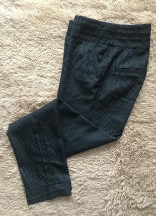 Укороченные брюки в горох