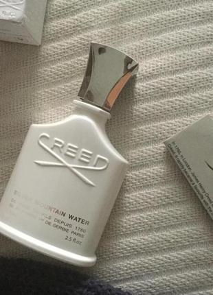 Creed silver mountain water_original_eau de parfum 5 мл затест_парфюм.вода