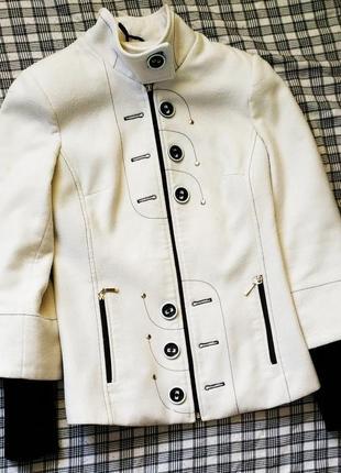 Пальто трансформер, деми, шерсть, приталенное
