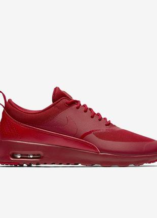 Nike air max thea red красные найки эир макс