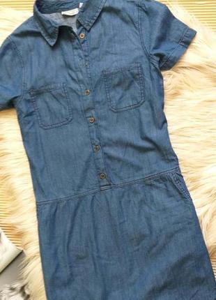 Джинсовое платье  blue motion