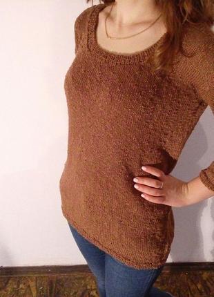Весенне летний свитер