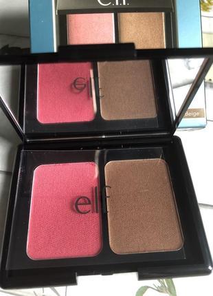 Aqua - infused blush & bronzer, в оттенке pink beige