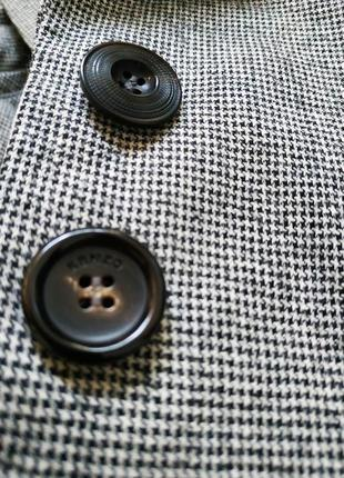 Шерстяной пиджак kenzo