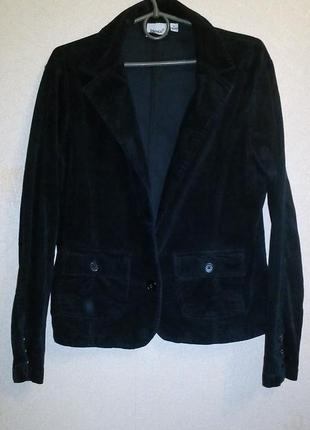 Вельветовый пиджак стрейч