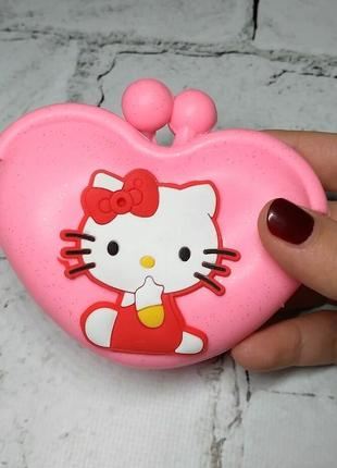 Кошелек-сумочка силикон кошка
