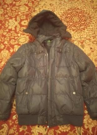 Зимняя куртка на мальчика. рост 140-145
