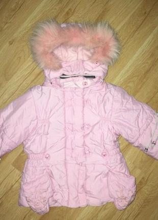 Демисезонная куртка для девочки,2 года
