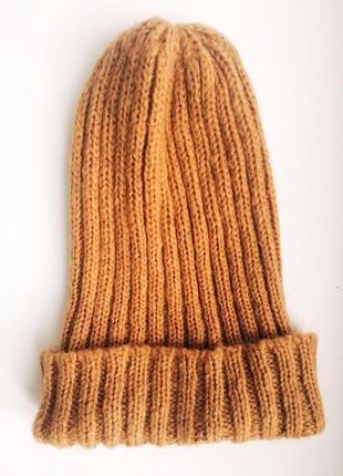 Яркая тёплая шапка h&m