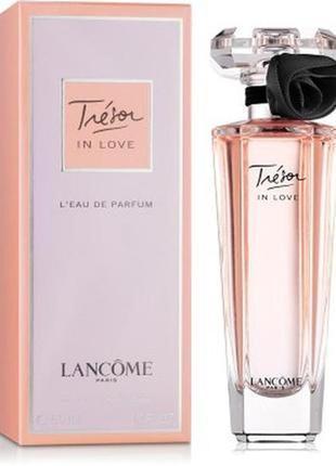 Lancome tresor in love миниатюра 5мл, женская парфюмированная вода,оригинал lancome
