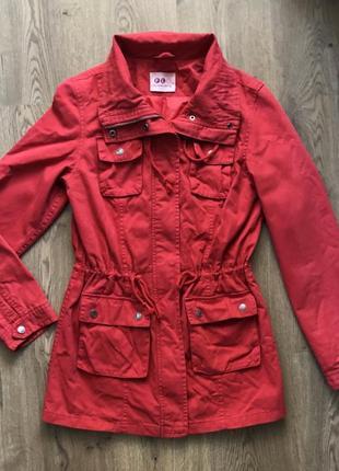Куртка красная милитари (германия), размер s-m