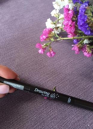 Новый карандаш для бровей ( коричневый ) со щеточкой