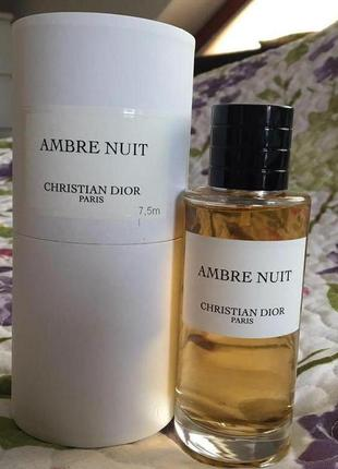 Christian dior ambre nuit_original_eau de parfum 7 мл затест_парфюм.вода