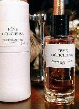 Christian dior feve delicieuse_original_eau de parfum 7 мл затест_парфюм.вода