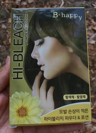 Осветлитель для волос. пудра и лосьон для осветления волос - hi-bleach powder & lotion