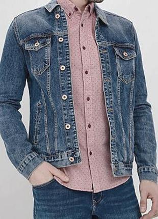 Мужская джинсовая курткаи colin's (колинз)