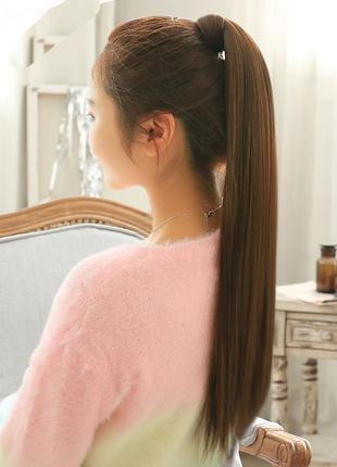 8 хвост из искусственных волос