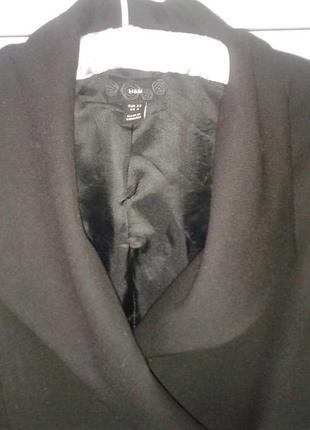 Жакет h&m пиджак черный