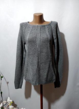 Асимметричный интересный свитер