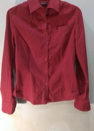 Красная рубашка lerros
