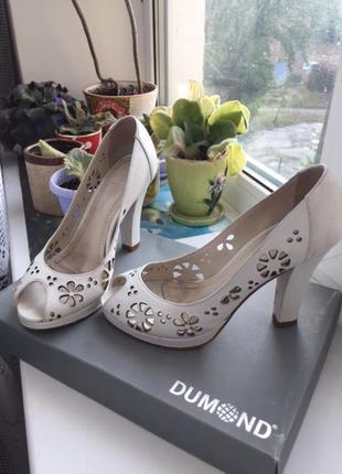 Туфли dumond на высоком каблуке