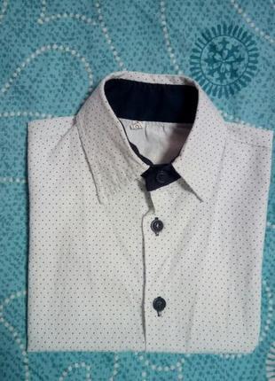 Стильная рубашка на мальчугана