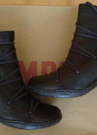 Новые кожаные ботинки ботильоны camper