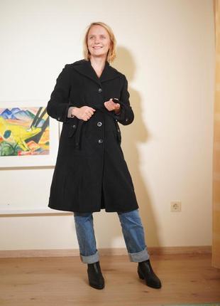 Идеальное шерстяное пальто с кашемиром