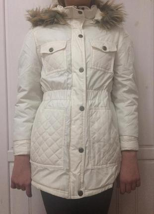 Парка куртка утепленная, с капюшоном, на девочку, tm steve madden, 10-12 лет