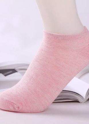 Носки короткие, под кроссовки, хлопок - duna 38-40