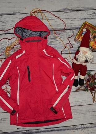 Xs - s фирменная женская зимняя лыжная куртка термокуртка