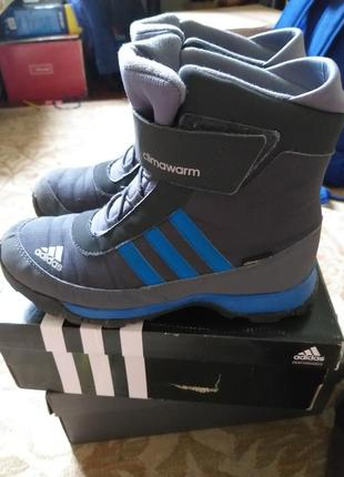 Зимние ботинки адидас