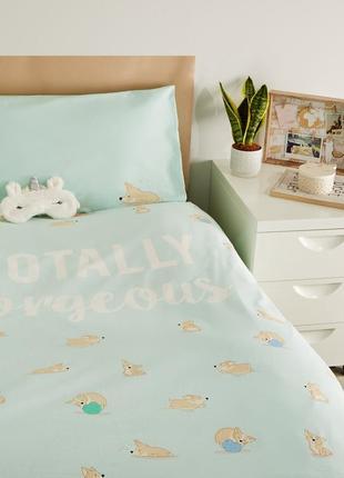 Новое постельное белье new look, красивый набор, качественный