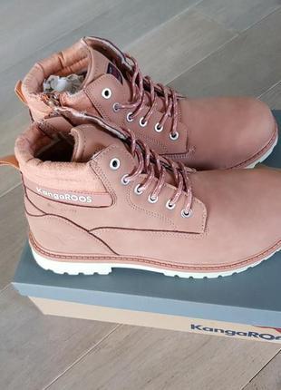 Осенне-зимние ботинки kangaroos riveter jr ii, р. 40 подростковый