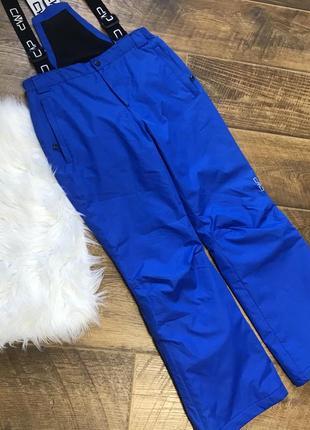Стильный лыжный комбинезон брюки cmp 164р. унисекс