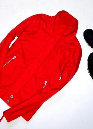 A  wear . красная спортивная куртка на флисовой подкладке. с. 8. 36