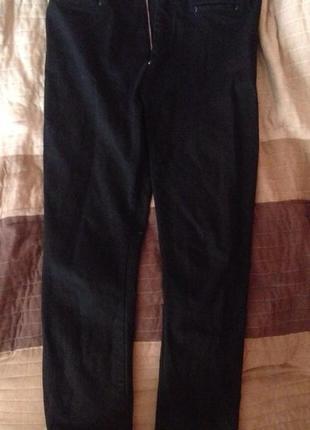 Оригинал черные джинсы высокая талия от victoria beckham