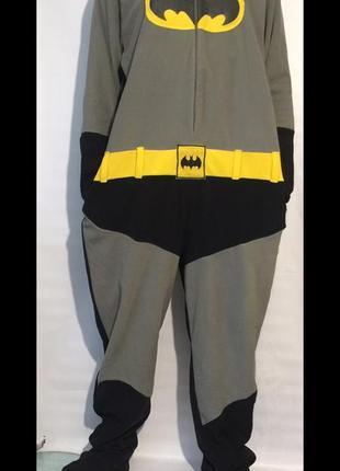 Пижама,комбинезон,кигуруми batman большого размера на высокий рост