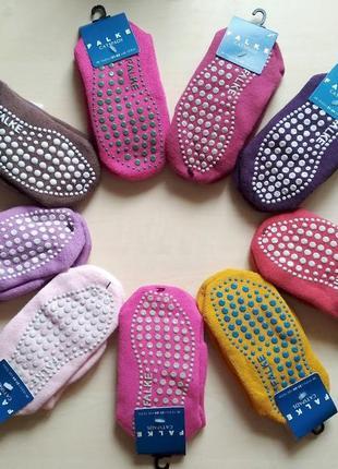 Носки с силиконовыми стопами тормоза антискользящие силикон falke