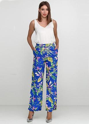 Оригинальные широкие брюки от бренда h&m разм. 42