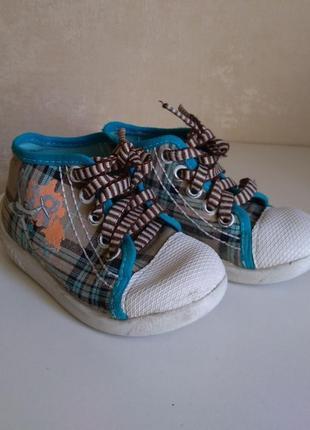 Кеды детские, на шнурках, befado, 14.8 см