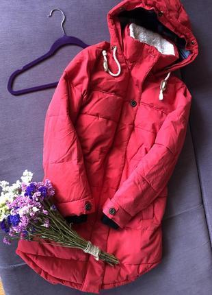 Актуальная длинная теплая  куртка colins ( не секонд ) в идеале