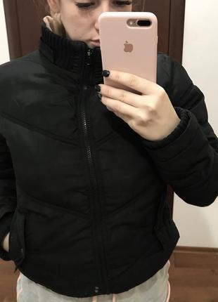 Куртка дутая черная